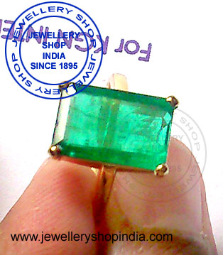 Emerald Stone Ring Designs for Man and Woman