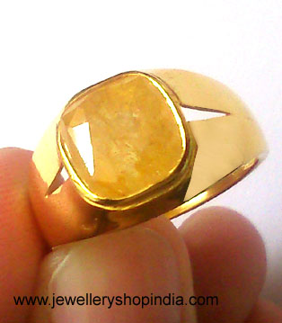 Gemstone Ring Designs for Gents