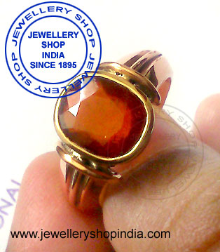 Gomed Stone Ring Designs in Panch Dhatu  for Man