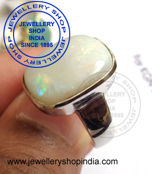 Fire Opal Stone Ring Designs for Man