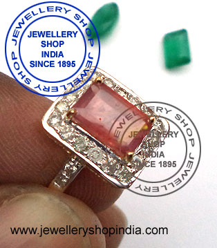 Ruby Ring Designs with Diamonds