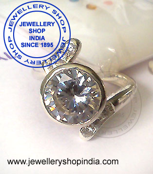 Zircon Rashi Ratan Ring Design for Women
