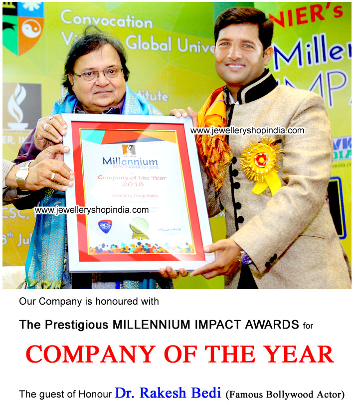 Company of the Year Award by Rakesh Bedi Famouse Film Actor