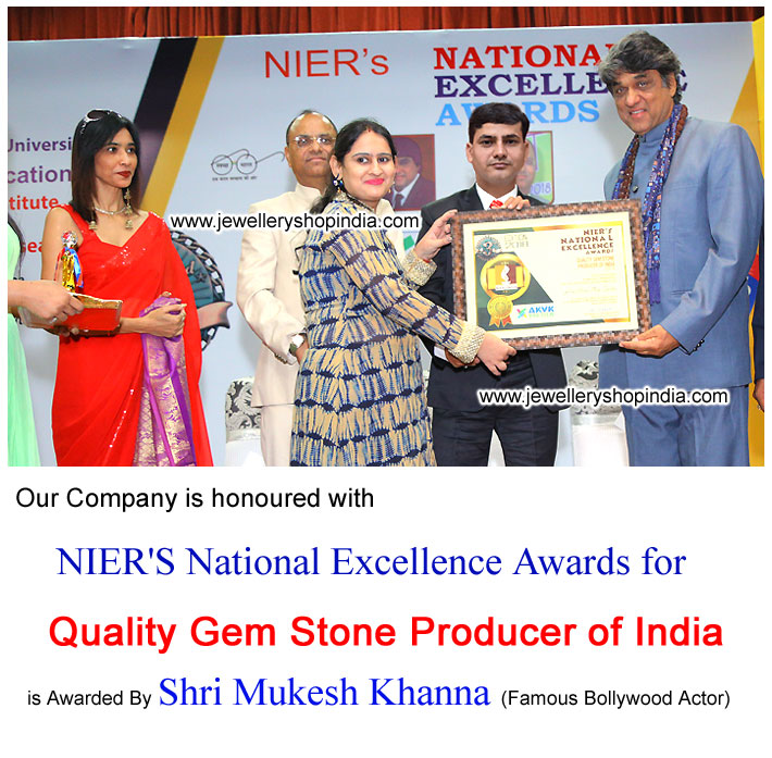 Jewellery Shop India awarded by National Excellence Awards 2018