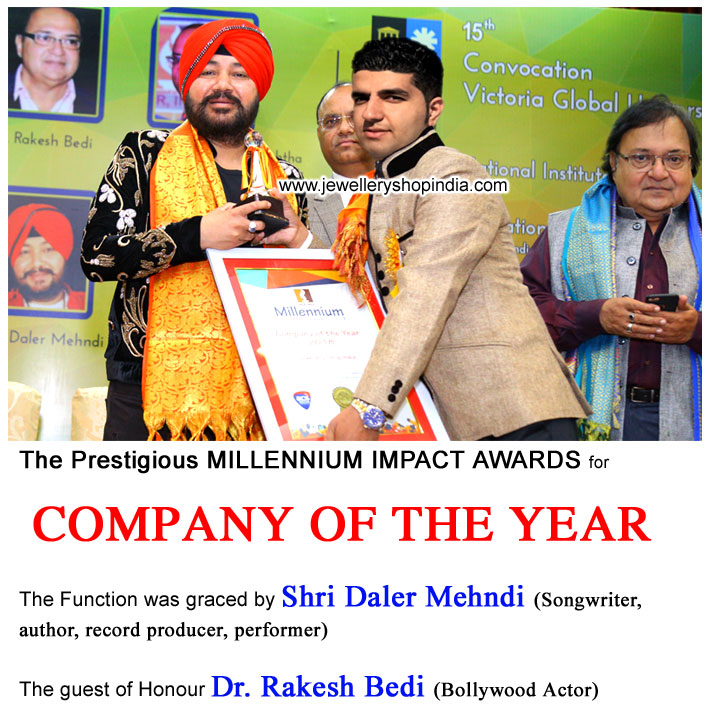Jewellery Shop India Company of the year 2018